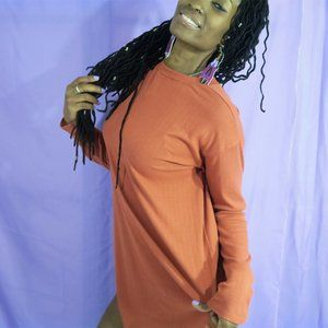 First Love by Lovelyn pointelle rib top round neck